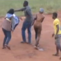Girls Stripped Naked and Flogged In Strange Graduation Party [Photo and Video]